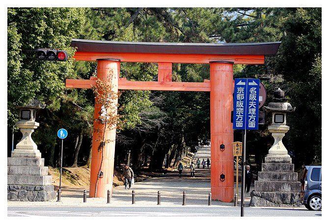 Torii du temple Kōfuku-ji