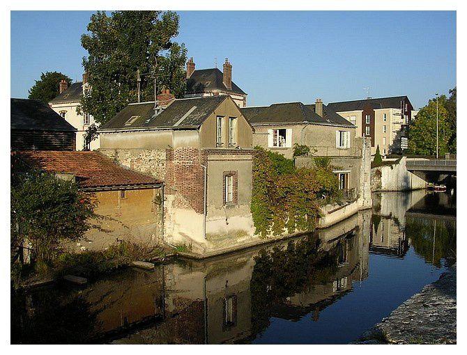 Chartres, bords de l'Eure