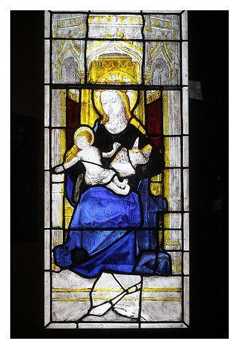 """""""Vierge à l'Enfant"""" vers 1480"""
