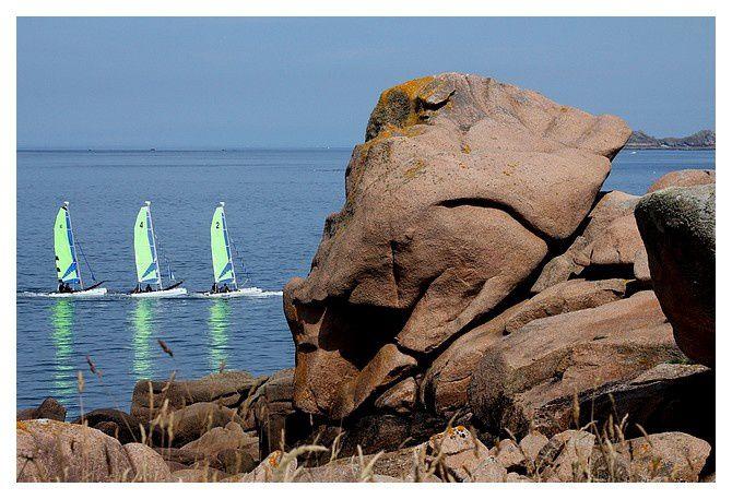 Côte de granite rose, Perros Guirec (22) juillet 2014