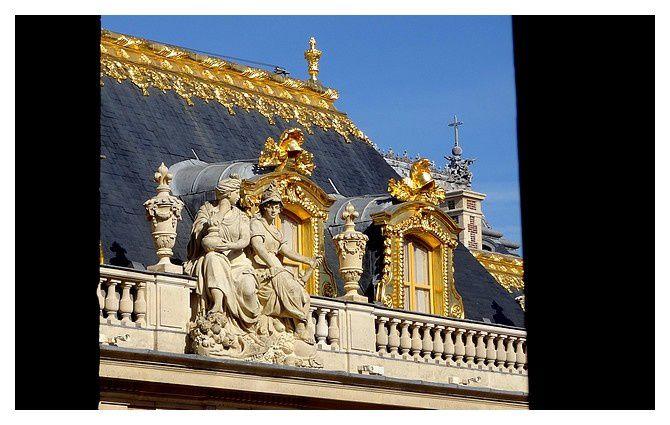 Versailles : Le Château : septembre 2014