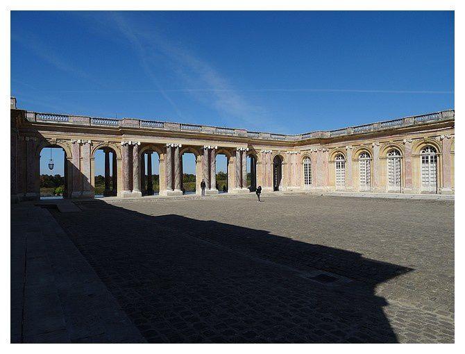 Versailles : Le Grand Trianon, septembre 2014