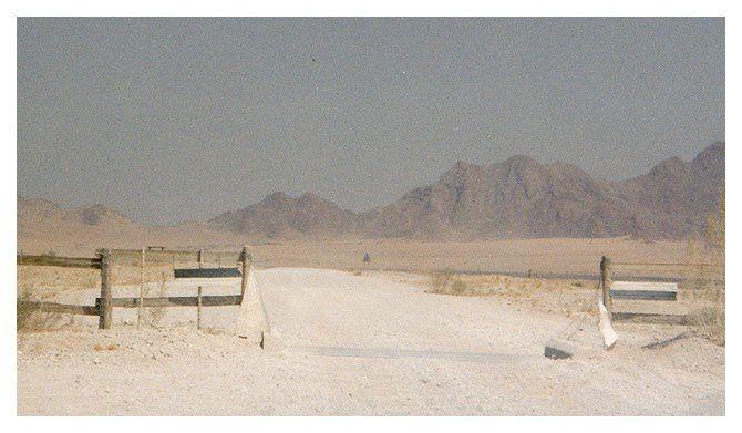 entrée dans le parc national du Namib