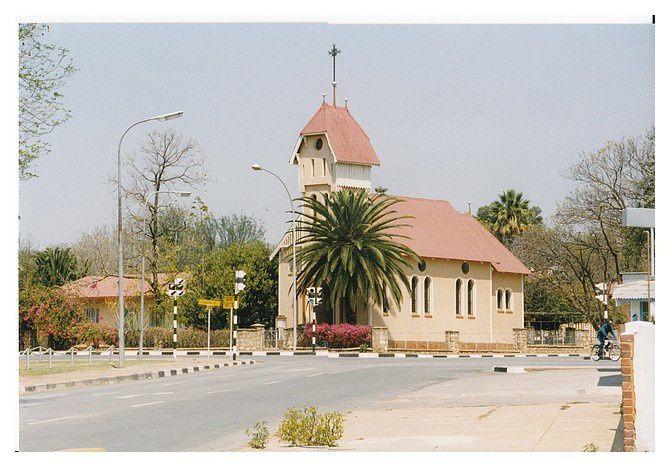 l'église de Tsumeb