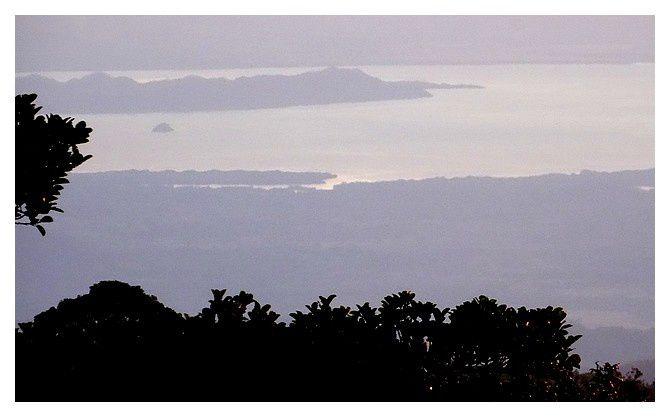 depuis l'hôtel, on aperçoit l'océan pacifique, en fait le golf Colorado.