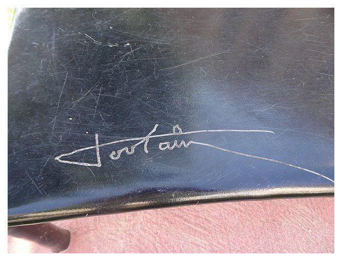 signature du sculpteur