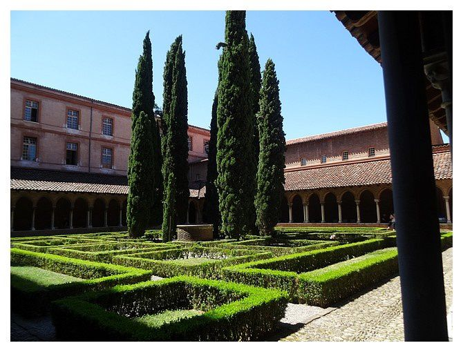 Toulouse, couvent des Jacobins; juillet 2015