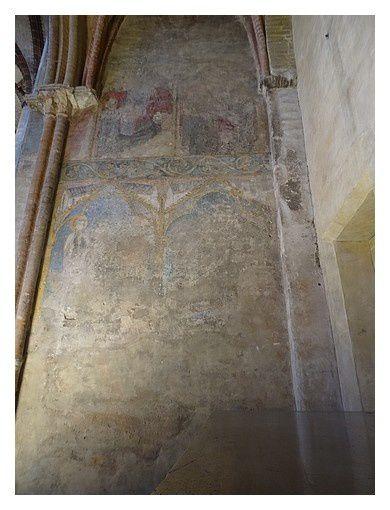 peintures murales des XIII ème et XIV ème siècles