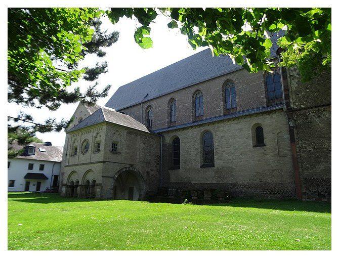 Cologne : Basilique bénédictine Saint Pantaléon