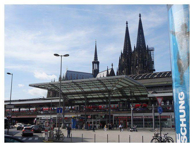 Cologne : Gare centrale