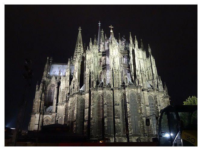 Cologne : la nuit