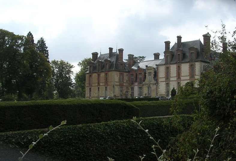 Le château de Thoiry;  septembre 2009