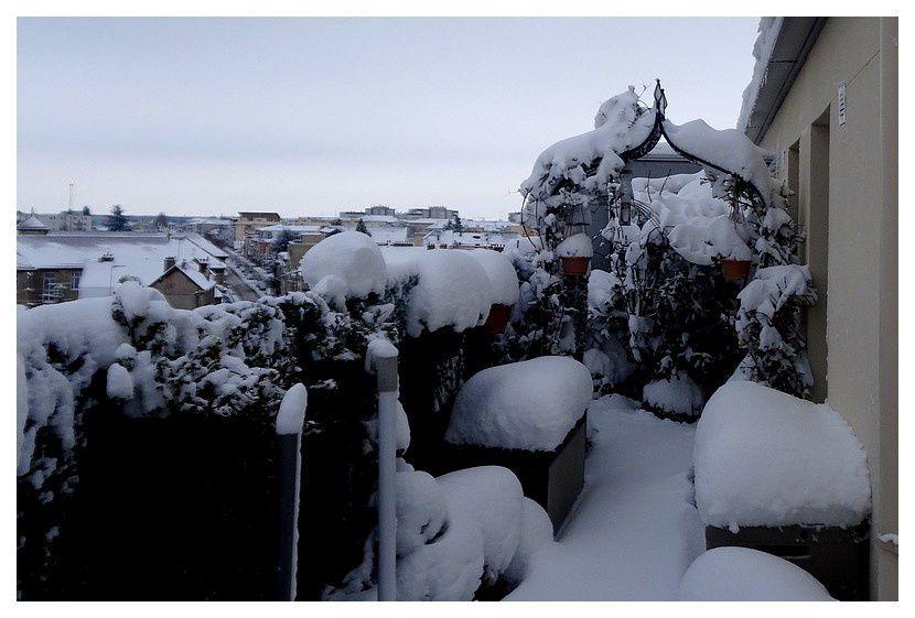 neige 6 et 7 février 2018