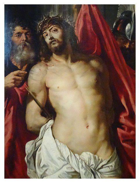 """Rubens (1577-1640)  """"Ecce Homo""""  1612"""