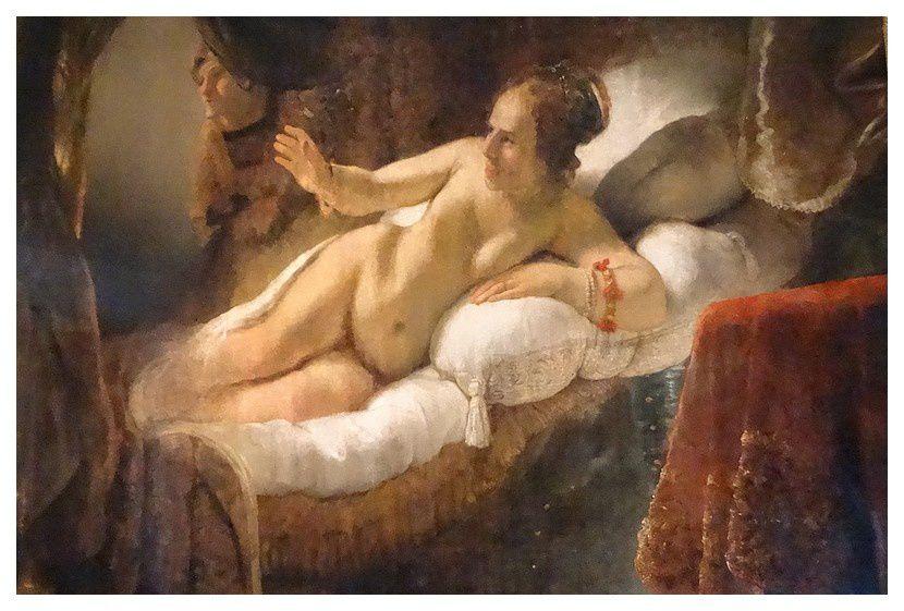 Rembrandt (1606-1669)   Danaë 1636