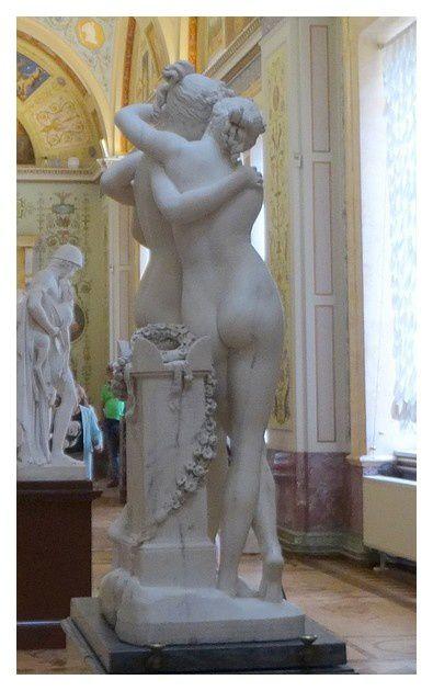 Antonio Canova (1757-1822) Les Trois Graces (1ère version)  marbre  1814/1817
