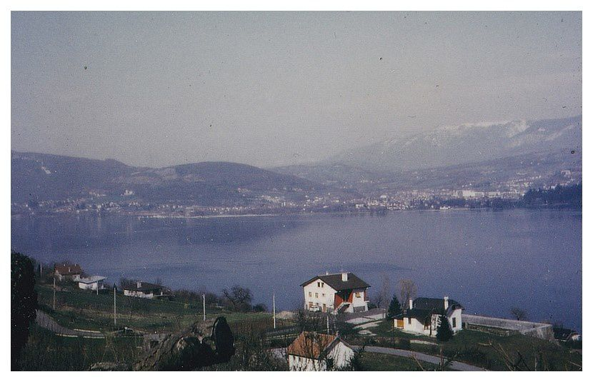 Annecy (74); avril 1969