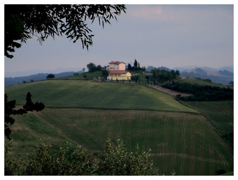 Agriturismo Ca'de'Gatti; Faenza Italie; mai 2018