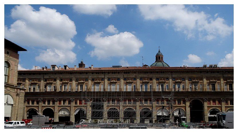 palazzo dei banchi,  XVe siècle et XVIe siècle.