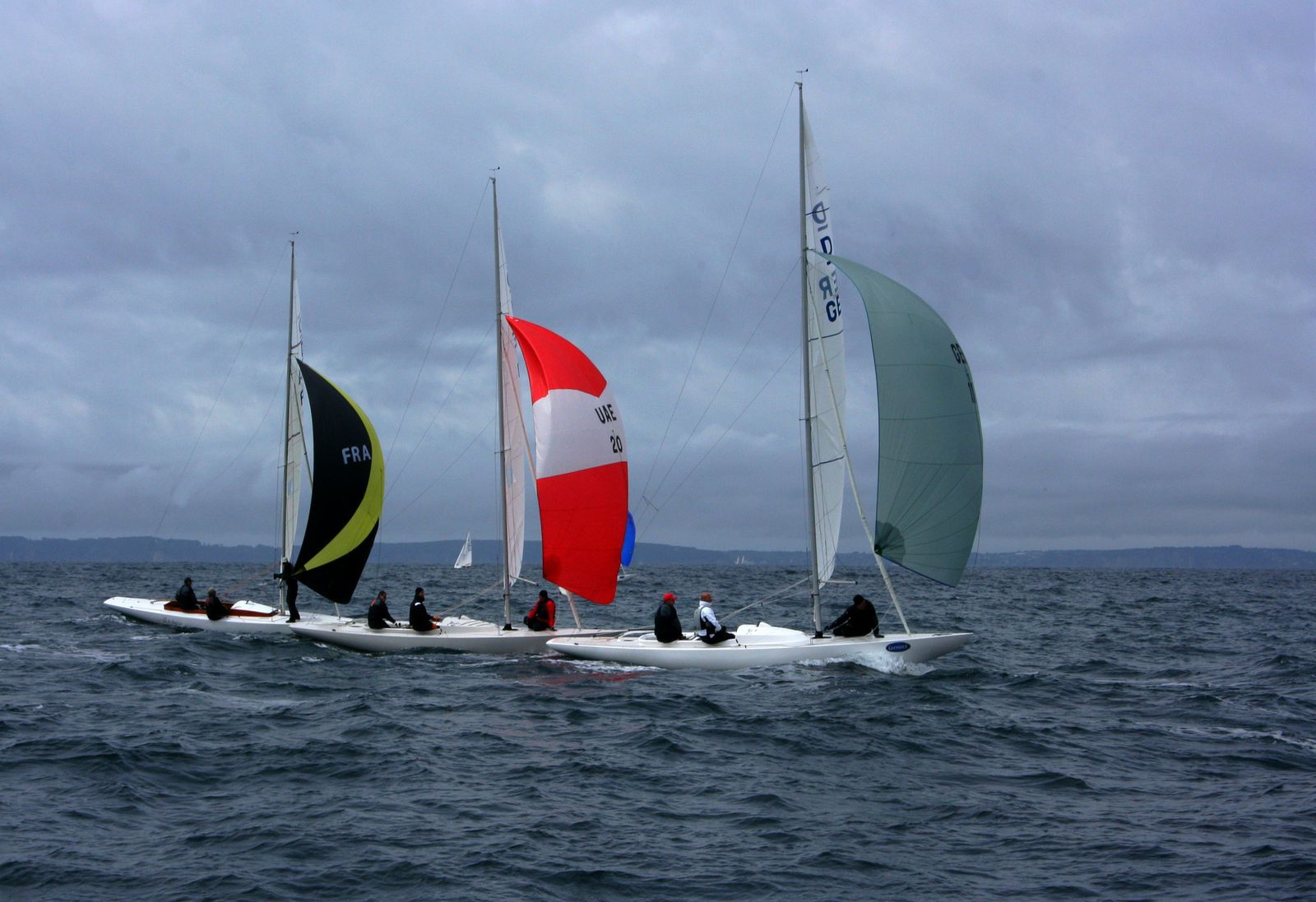 219  -  Grand Prix Dragon mai 2013 baie de Douarnenez, photos © GeoMar, Grand Prix Guyader