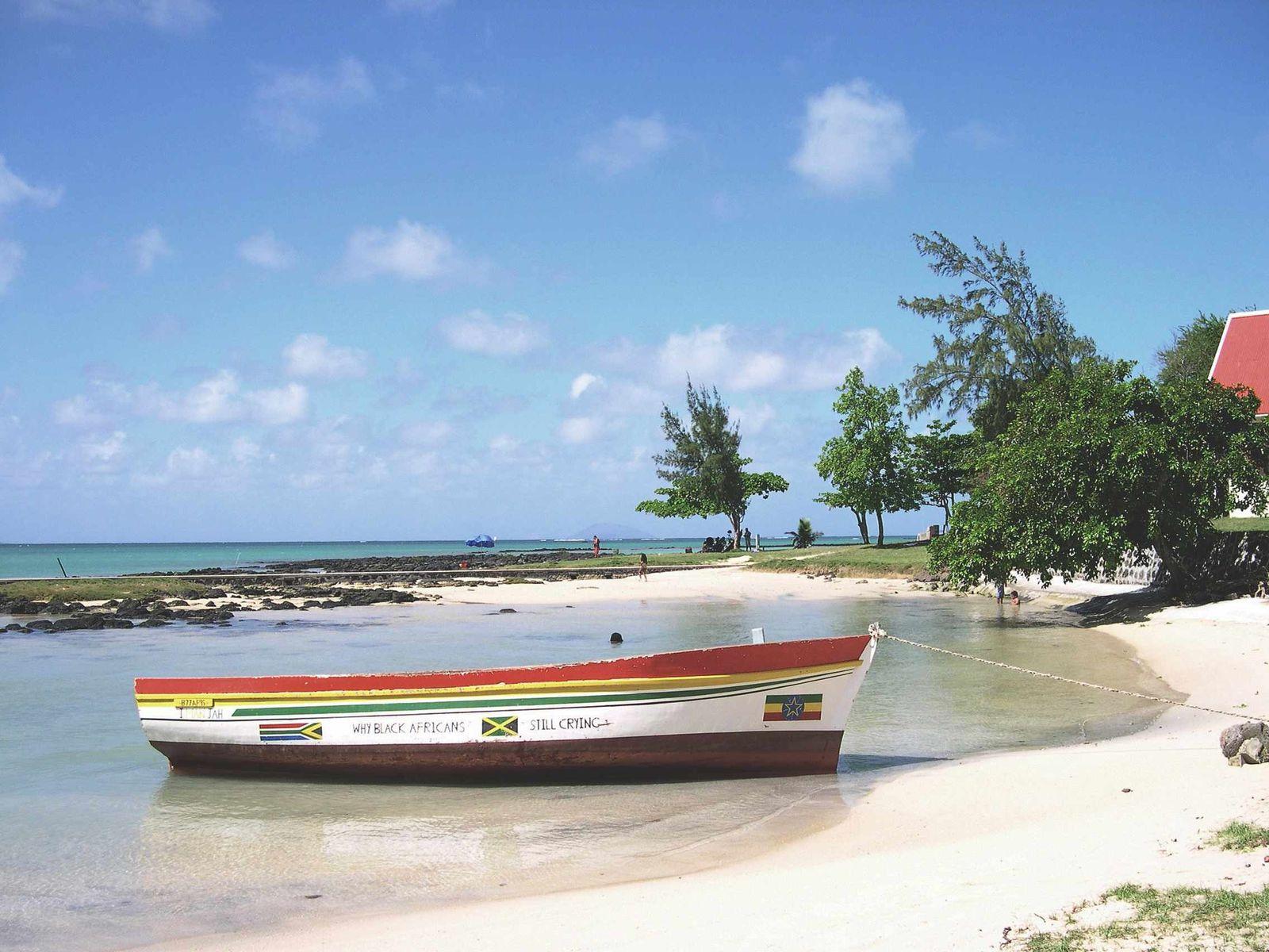 Port de Cap-Malheureux île Maurice...