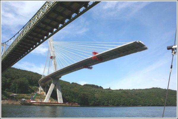 Nouveau pont en construction mai 2010...