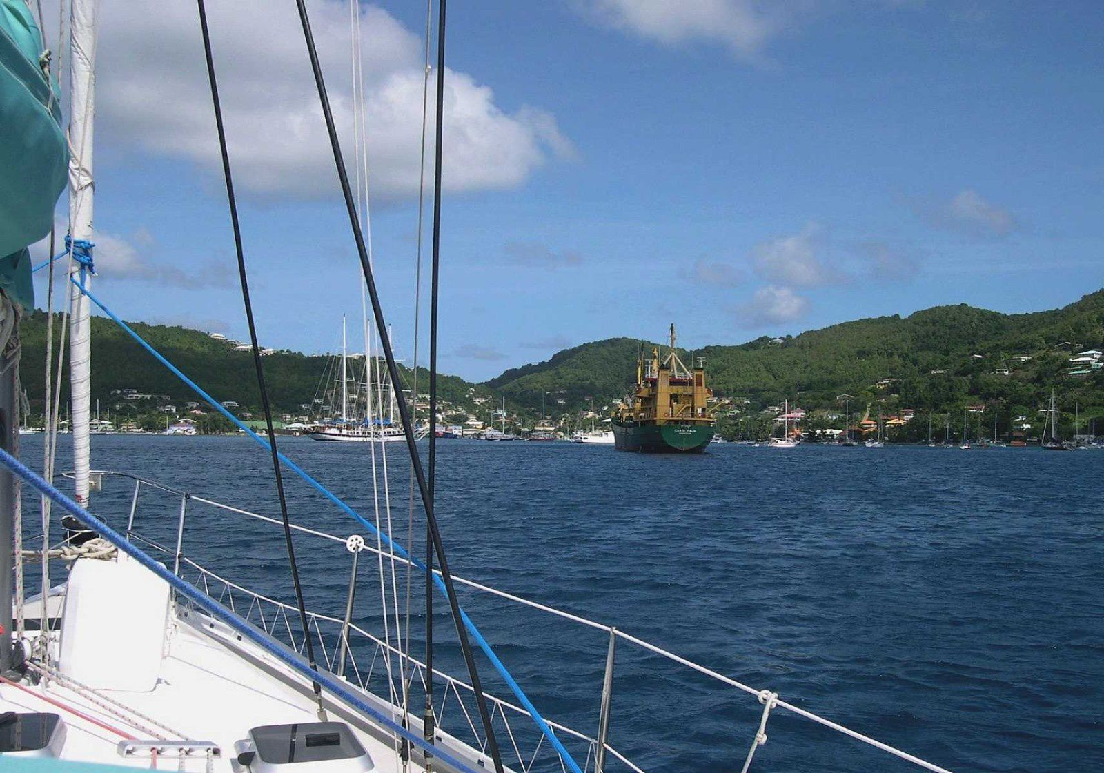 Bequia, Port-ELIZABETH Admiralty Bay 2005