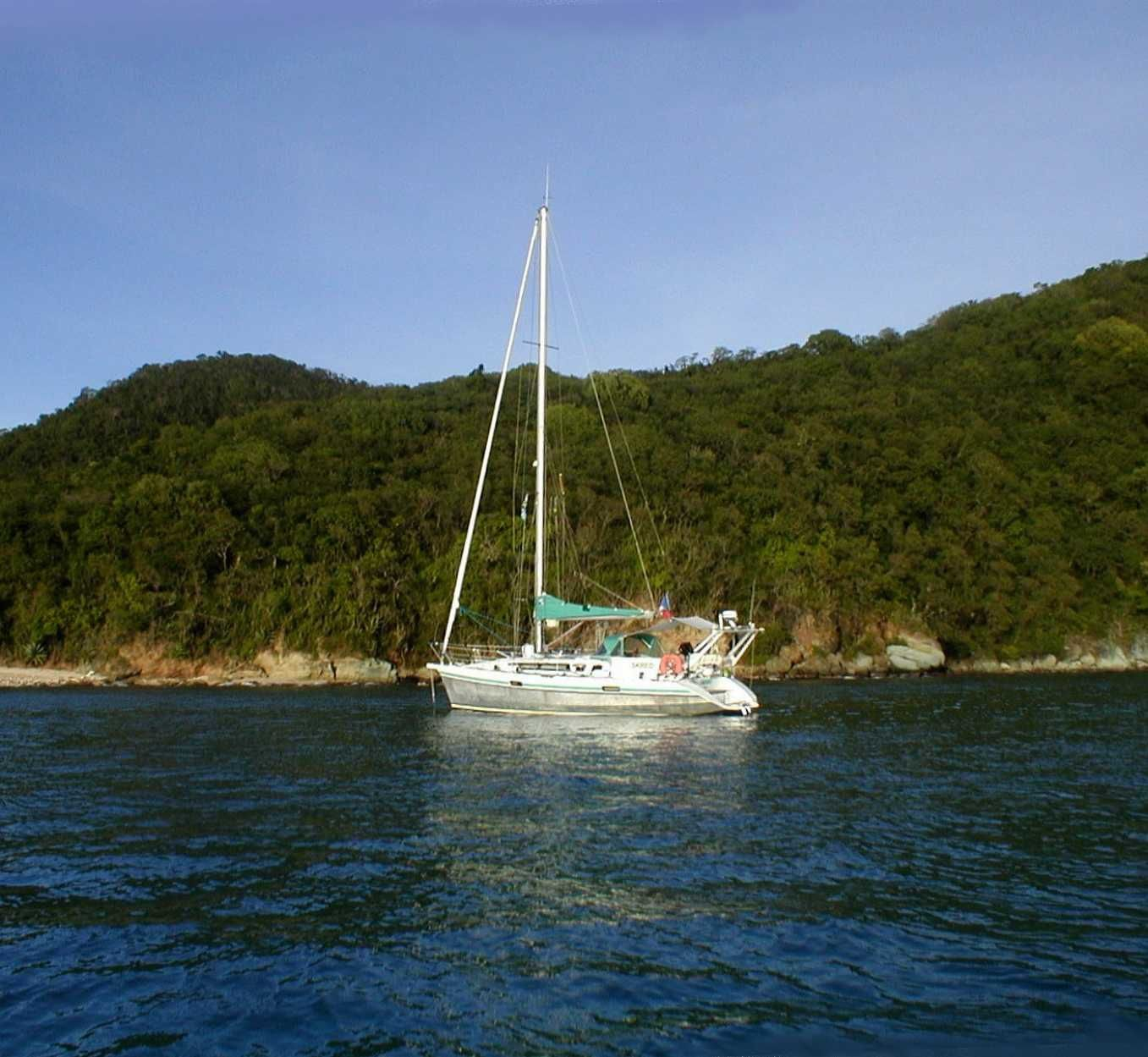 Skreo à Rameau Bay Canouan  Grenadines 2005