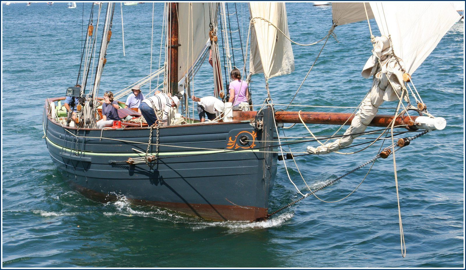 "Cotre pilote ""AGNES of Scilly"" UK  (copie 2003)"