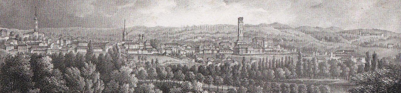 Limoges 1837 ( détail) - Jean-Baptiste Tripon (1801-1878)
