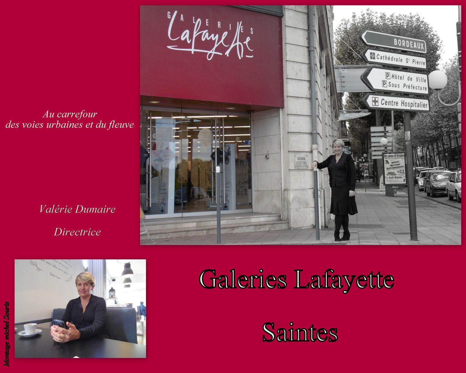 19 - Galeries Lafayette Saintes Nouvelle Direction - Gertrude la juive assassinée.. un visage retrouvé. Musicaventure Abbaye aux Dames.