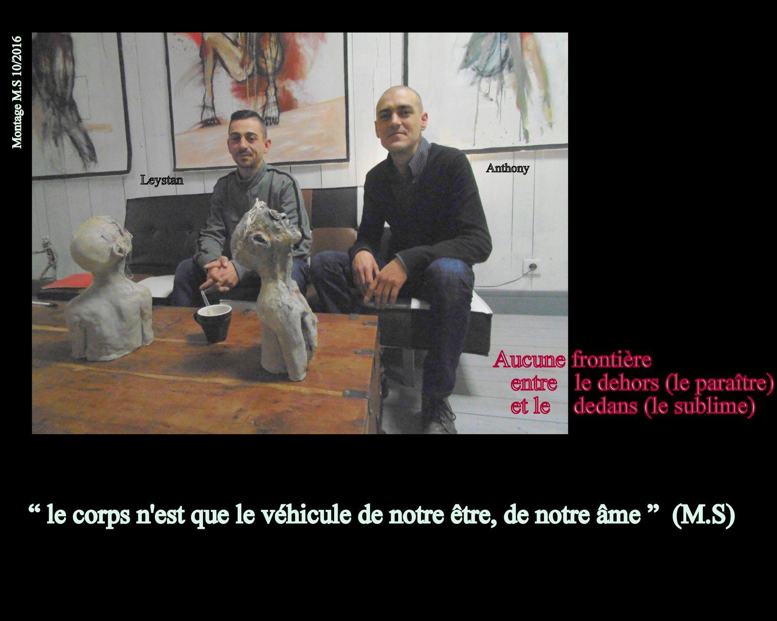 25 - Anthony et Leystan Renversant Conception Vie ou Mort: Artistes. Chat de Doisneau Bis;