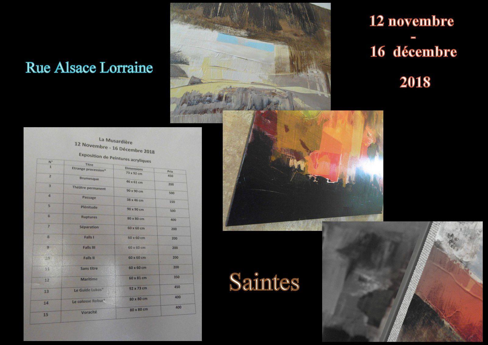 22 - Avocats robes ou gilets noirs  Catherine Blouin et peintures .. La Musardière
