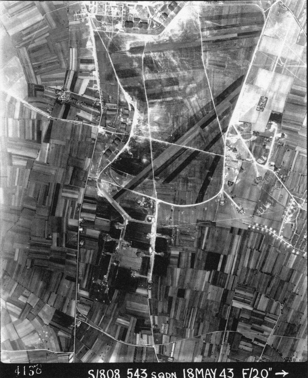En 39/45 la base aérienne de Châteaubernard était devenue allemande, mais les Allemands avaient un projet plus vaste: Des pistes étaient déjà des sections pour leur future autoroute....