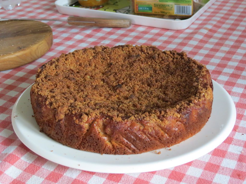 Gâteau aux fruits secs (version sans lait)