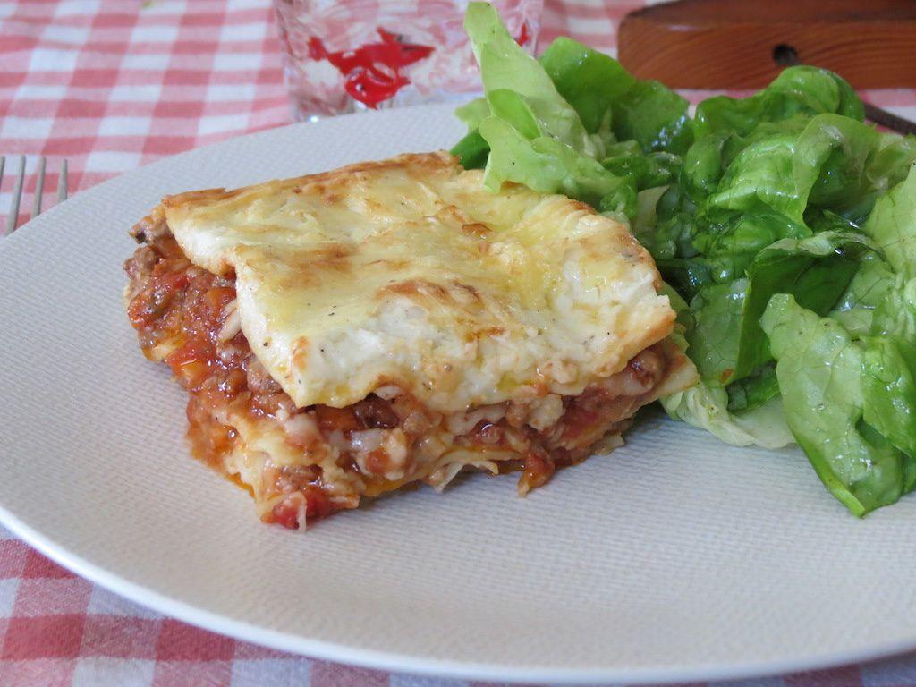 Mes lasagnes à la bolognaise