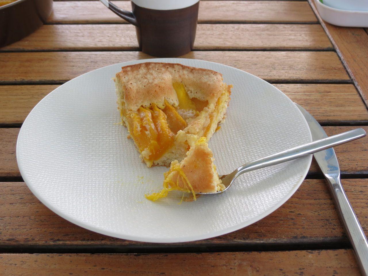 Gâteau tout simple à la mangue
