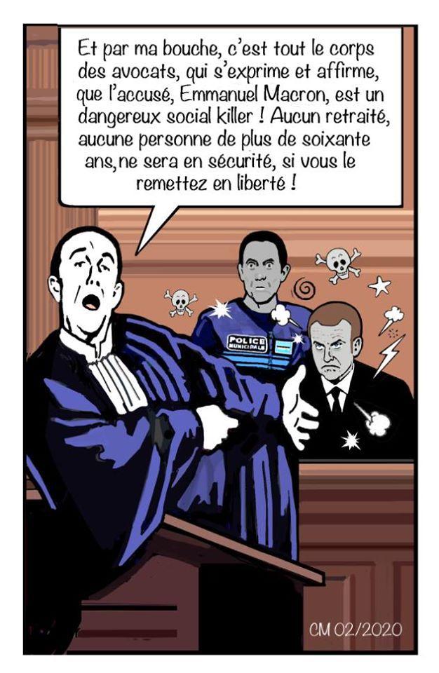 quelques dessins politiques de Chantal Montellier