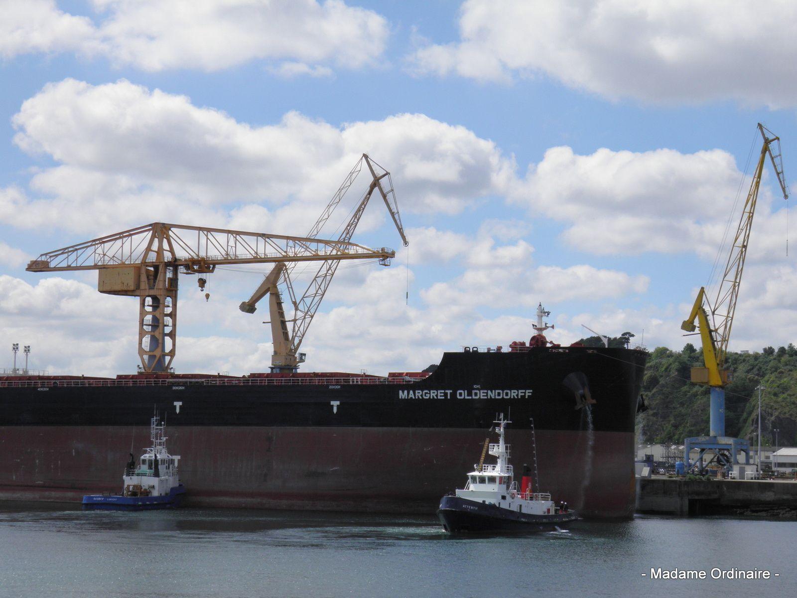 Le Port de Commerce de Brest