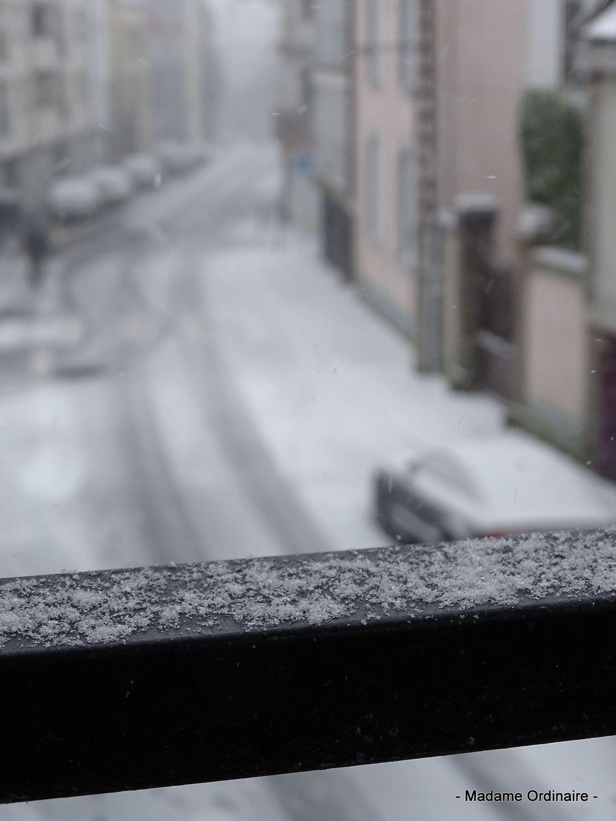 Brest sous la neige