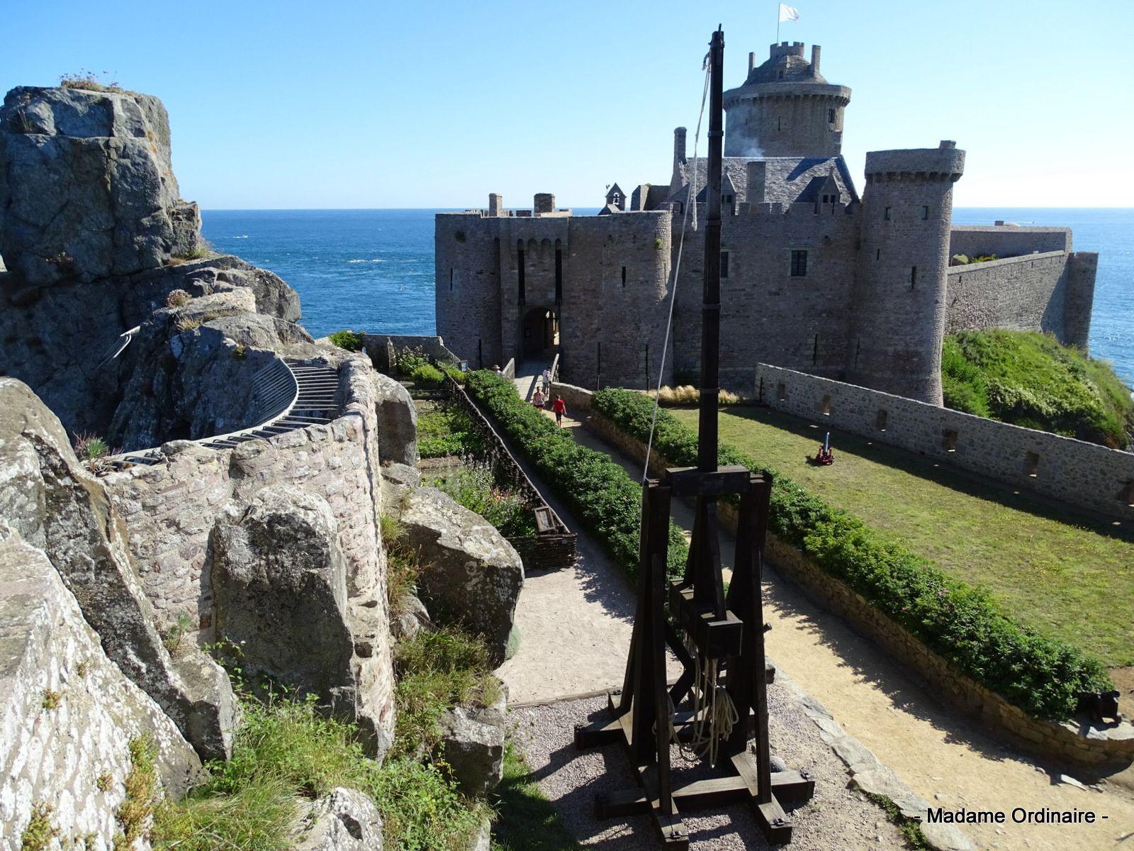 Un jour d'été sur la côte d'Émeraude, du Fort La Latte au Cap Fréhel