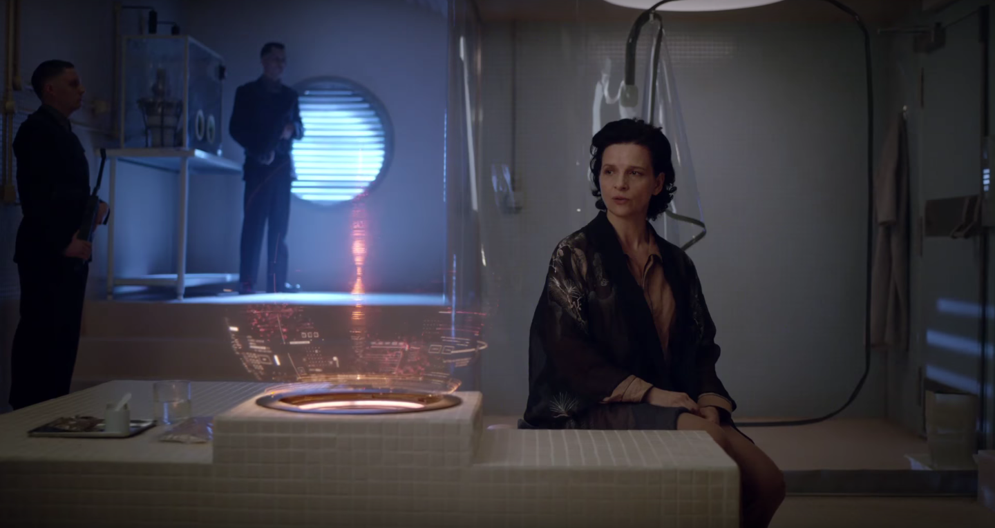 Ghost in the Shell Binoche