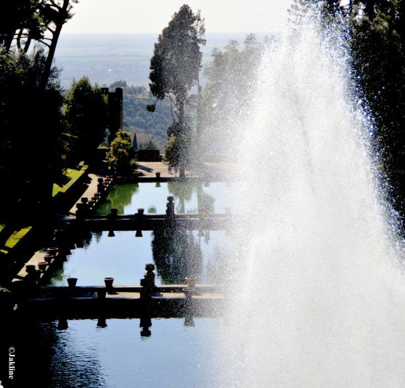 Tivoli , la Villa d'Este