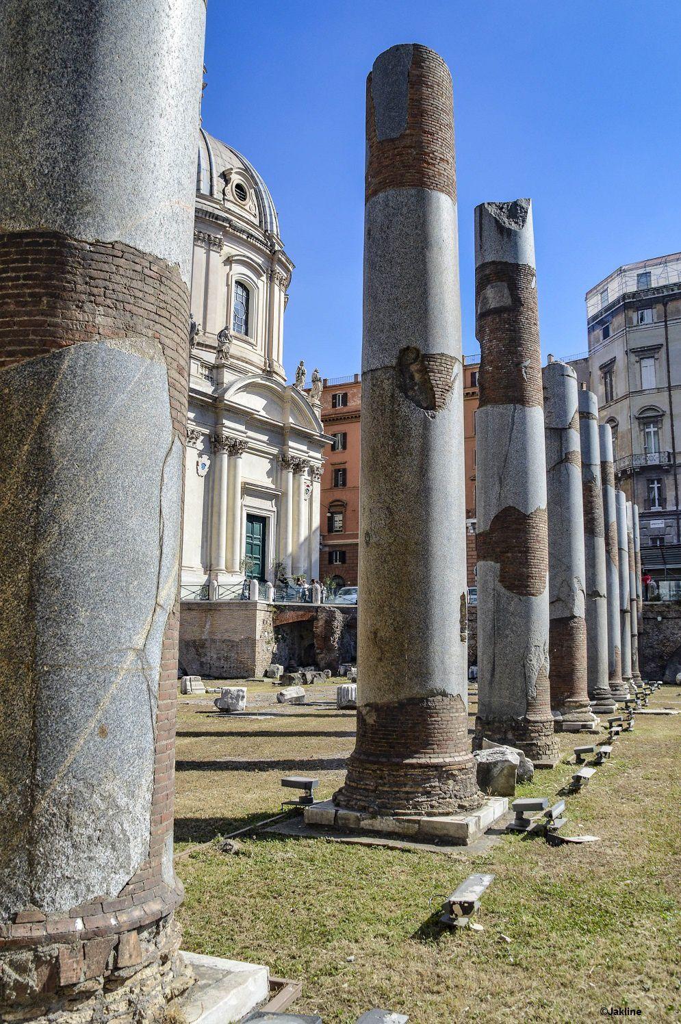 Les Forums de César et de Trajan