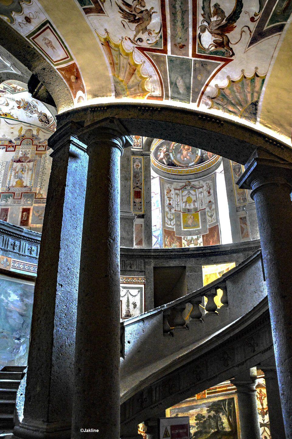 Un escalier royal!