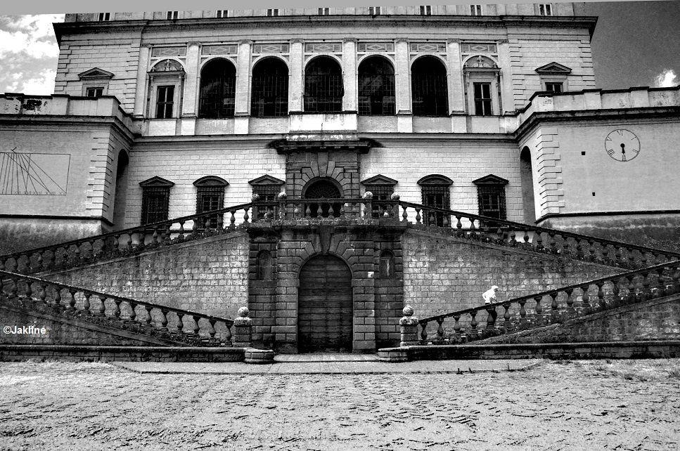 Le Palais Farnese à Caprarola