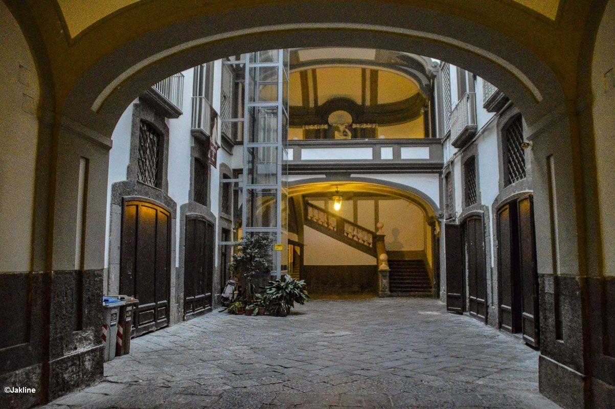 Escaliers napolitains
