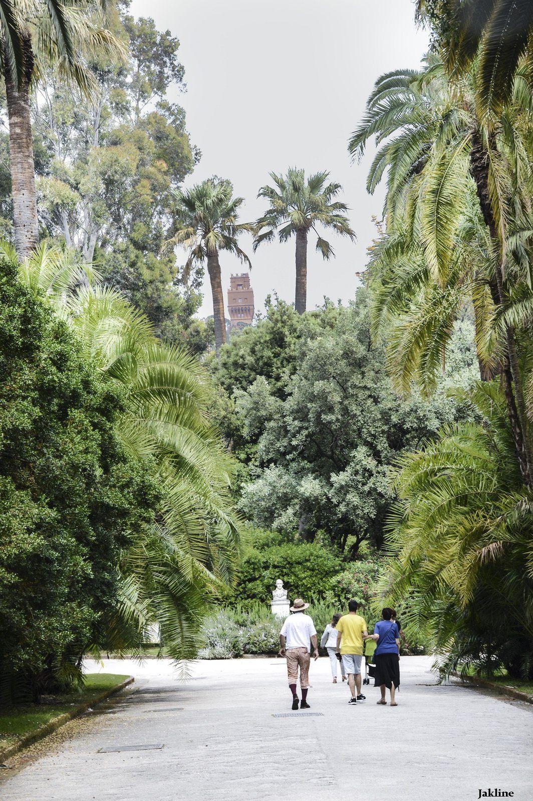 Le Jardin Botanique de Naples