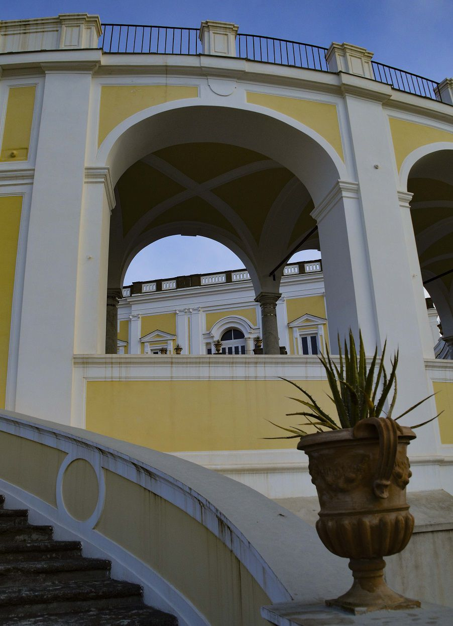 Le palais de Campolieto