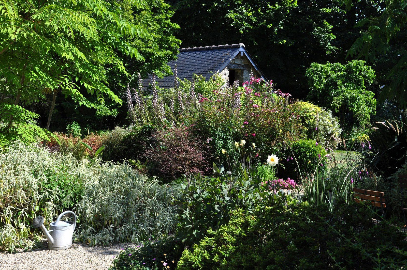 La Maison, un jardin où le talent s'exerce en toute simplicité